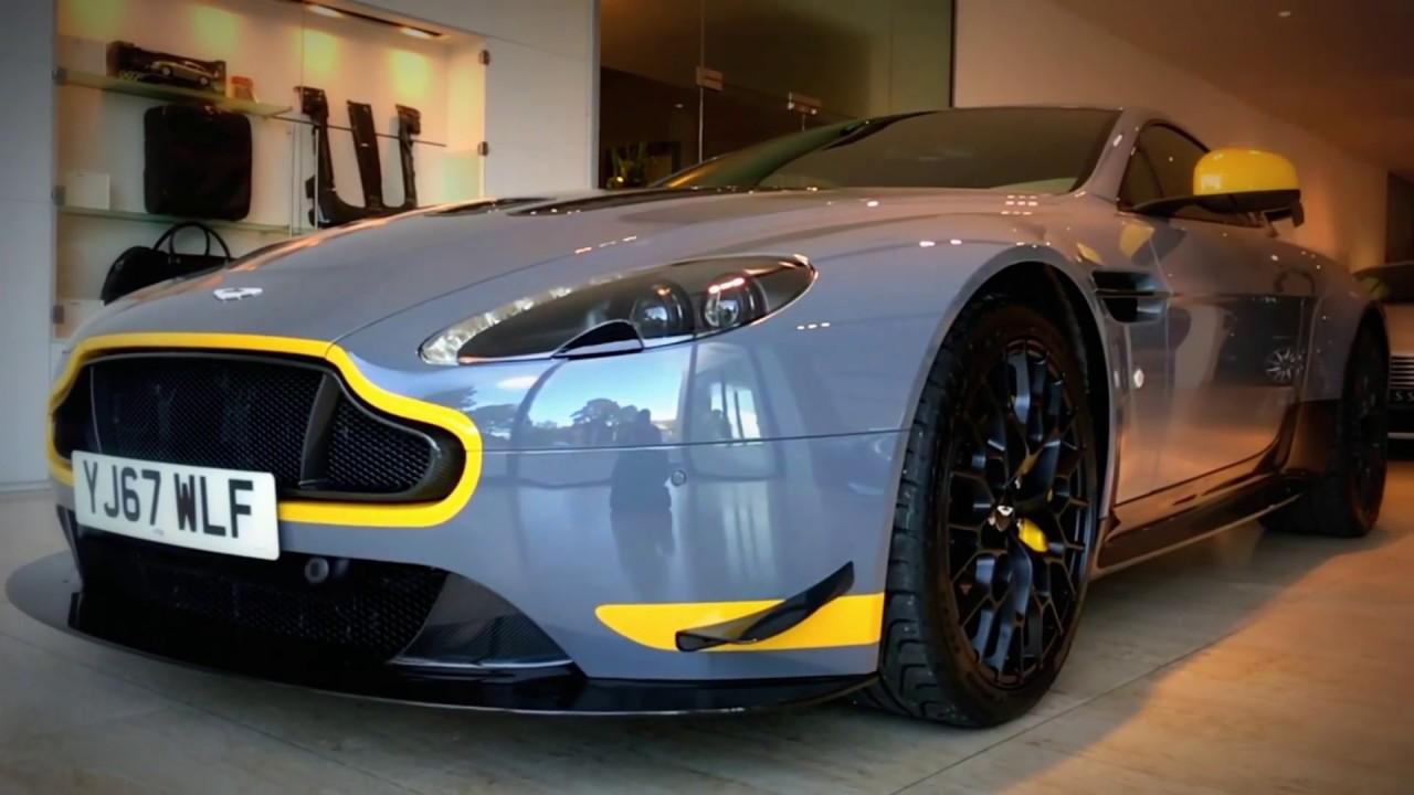 Aston Martin Leeds V12 Vantage S Amr Pack In China Grey Youtube