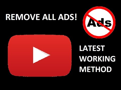 (HOW TO) BLOCK ALL YOUTUBE ADS ON ANDROID WITHOUT ROOT [100% WORKING METHOD] [NOVEMBER 2017]