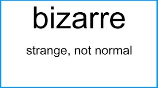 bizarre       The New English Dictionary
