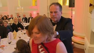 Mark Field forcefully ejects female activist from Mansion House event