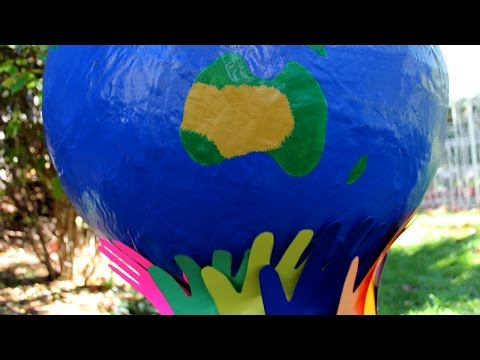 Earth Day activity: Make a globe