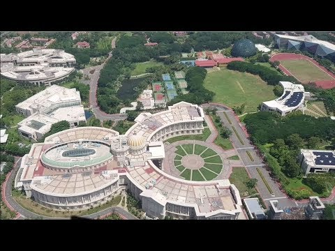 Helicopter Ride Over Infosys Mysore Campus
