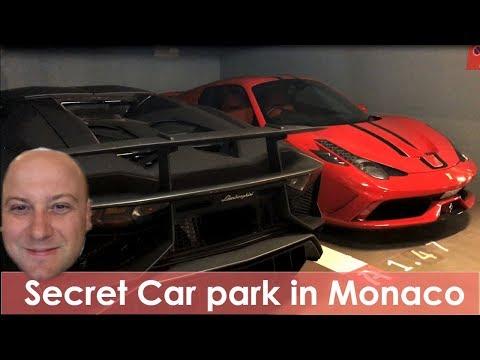 Secret Car Park In Monaco