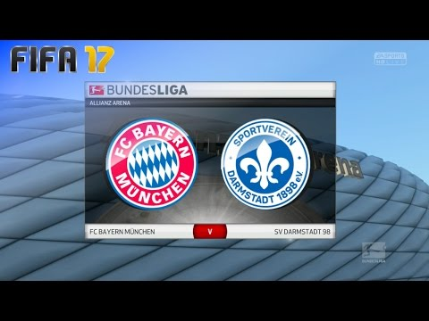 FIFA 17 - FC Bayern München vs. SV Darmstadt 98 @ Allianz Arena