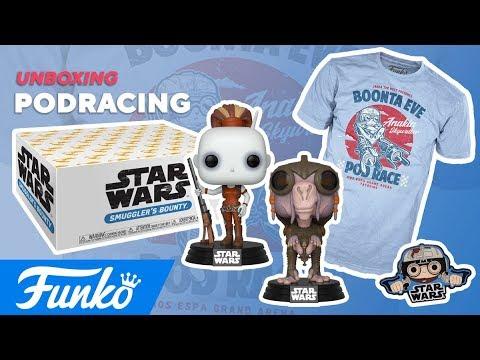 Star Wars Smuggler's Bounty : Podracing Unboxing
