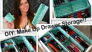 DIY: Easy Cute Make Up Organisation Storage Thumbnail