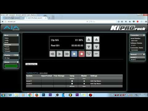 AJA KIPRO RACK - Gang 2 device aja kipro