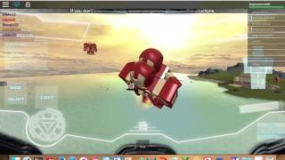 ROBLOX avengers testing [mark 5] gameplay!!!!!!!! *first vid*
