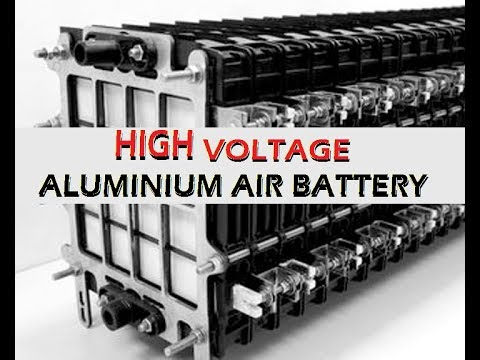 High Voltage Aluminium Air Battery
