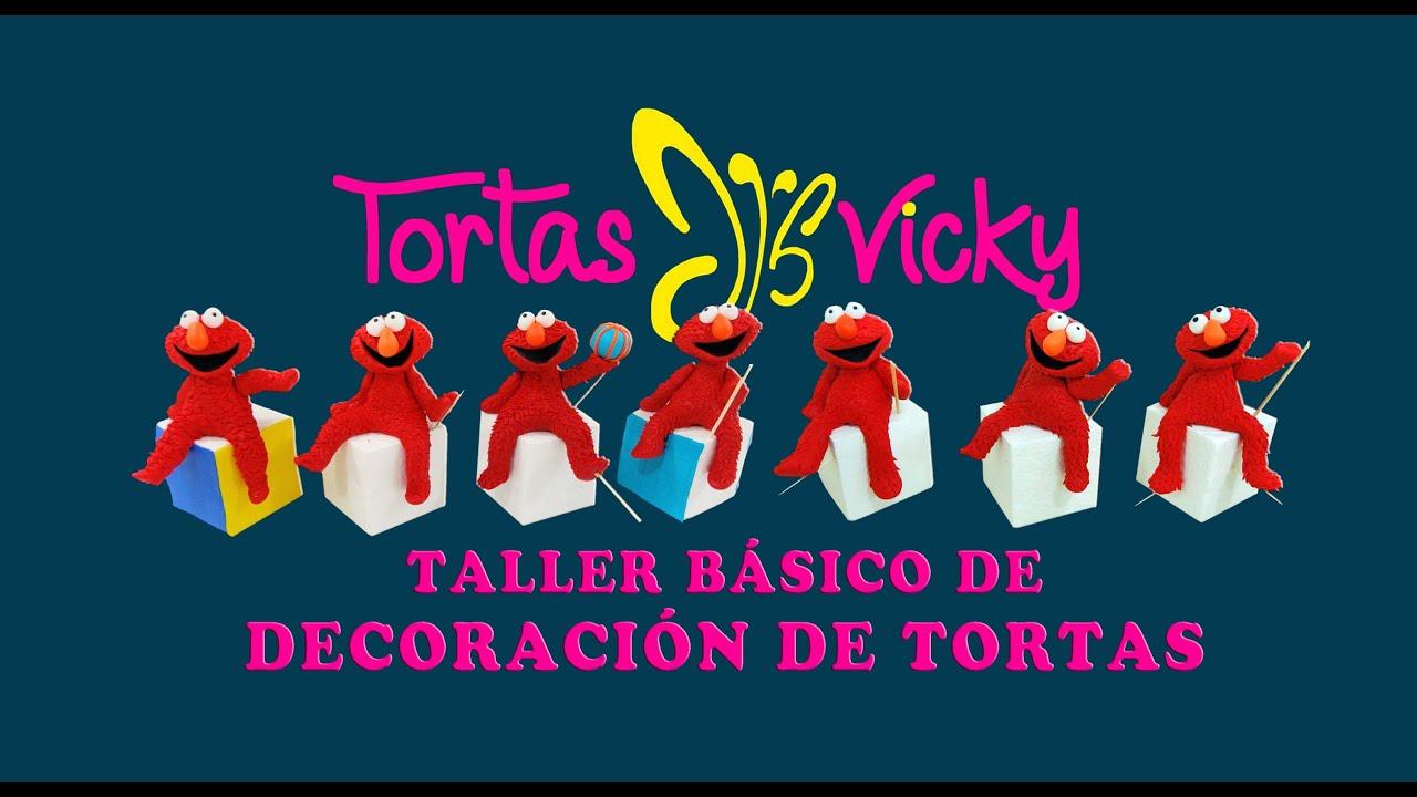 TORTAS VICKY - TALLER DE DECORACIÓN DE TORTAS