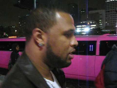 Slim Thug leaving BluePrint 3 Tour at Toyota Center in Houston Texas