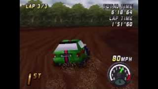 Top Gear Rally Playthrough (Actual N64 Capture) - Part 1