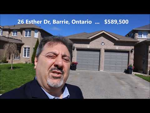Fantastic Bungalow for sale in Barrie, Ontario!