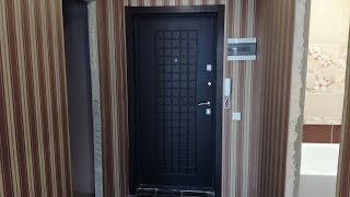 как сделать откос входной двери панелями мдф своими руками