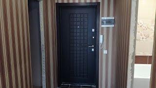 видео обшивка металлических дверей панелями