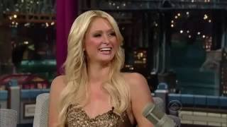 Paris Hilton on the Late Show with David Letterman - February 18, 2011 - Birthday interview