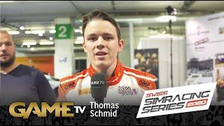 Game TV Schweiz - Thomas Schmid | Rennfahrer | SWISS SIMRACING SERIES