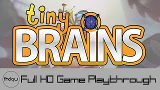 Tiny Brains - Full Game Playthrough (No Commentary)