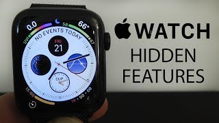 Apple Watch Series 4 Hidden Features - Top 10 List