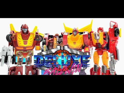 G1 VS Henki VS Titan Returns VS Studio Series Hot Rod by Deluxe Baldwin