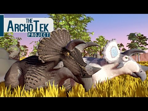 The Archotek Project - Família Triceratops, Meus Filhotes! | (#1) (PT-BR) Jogos De Dinossauros