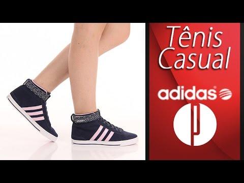 Tênis Casual Feminino Adidas Daily Twist Mid - 7240144010 - YouTube 78d2e63bdc72b