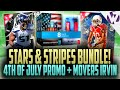 MADDEN 16 STARS & STRIPES BUNDLE PACK OPENING!!! NEW 4TH OF JULY PROMO + NFL MOVERS BRUCE IRVIN