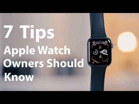 Seven Useful Tips Every Apple Watch Owner Should Know