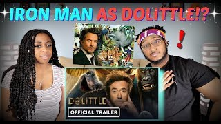 """Dolittle"" Official Trailer REACTION!!"