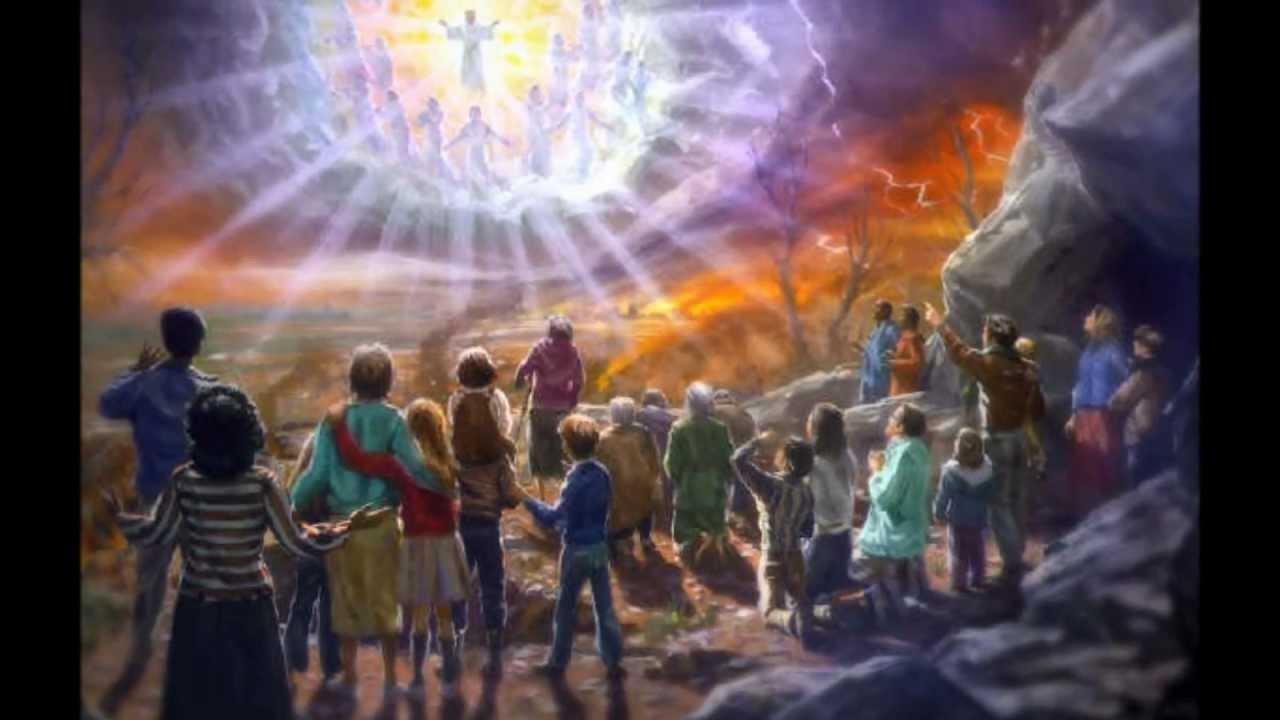 Cuando lleguen aquelloos dias despues de la gran tribulacion