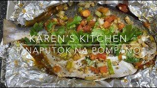 Easy To Cook Pinaputok na Pompano