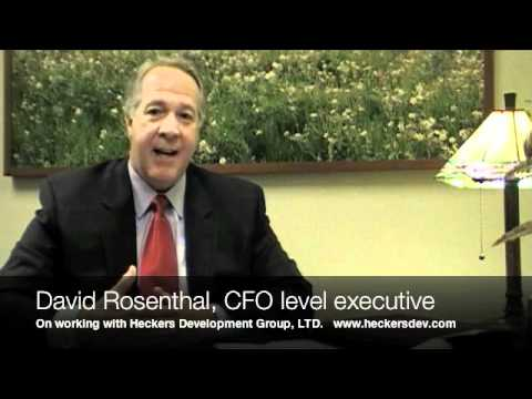 David Rosenthal on working with Heckers Development Group, LTD.