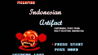 Mega Man: Indonesian Artifact - Password (J. S. Bach Orchestral Suite 2)
