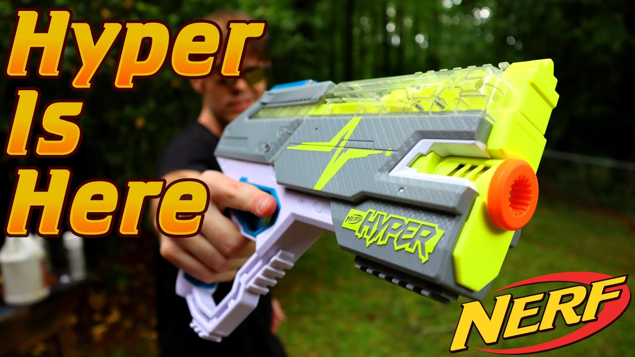 Download Honest Review: The NERF Hyper Rush-40 (A FIRST LOOK AT HYPER!!!)