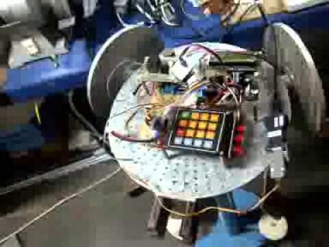 3 DOF REACTION WHEEL Control and System for nano satellite