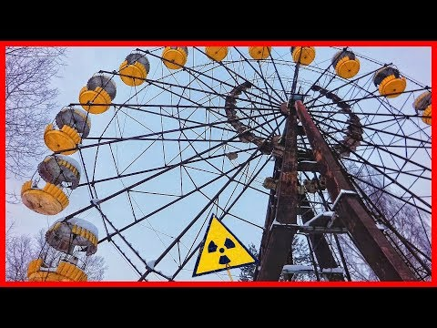 Abandoned Ghost Town Chernobyl and Pripyat 2018