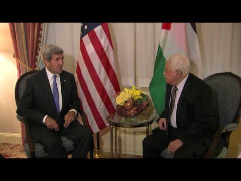 Secretary Kerry Meets President Mahmoud Abbas