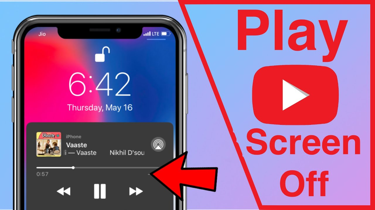 Play Youtube Music In Background With Screen Off On Android Iphone 2021 Youtube