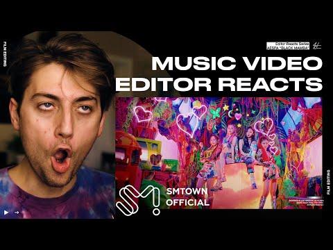 Video Editor Reacts to aespa 에스파 'Black Mamba' MV