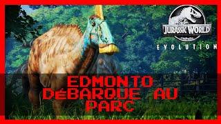 """EDMONTO DÉBARQUE AU PARC 🦕 """" #Jurassic World Évolution"""""""