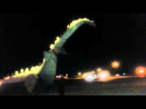 Kaskaskia Dragon  Vandalia, Illinois (filmed by Beverly King)