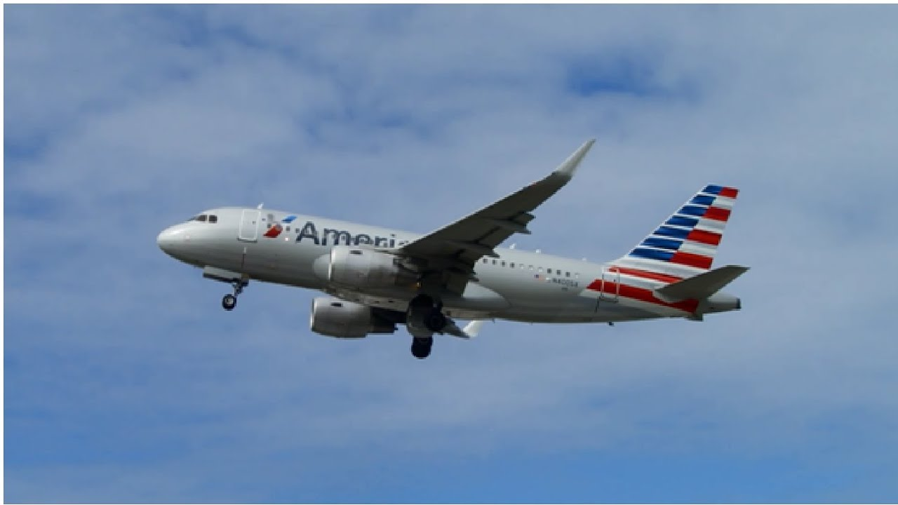 Reverse Ops American Airlines Airbus A319 Sharklets