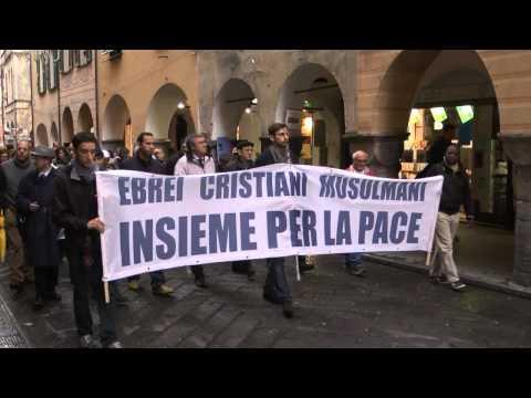 Marcia interreligiosa per la pace -  Chiavari 30 novembre 2014