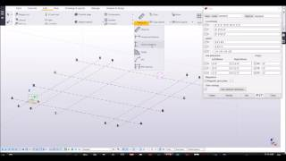Tekla Structures 2016i - how to create grid, modify it, and delete it. How to add single grid line.