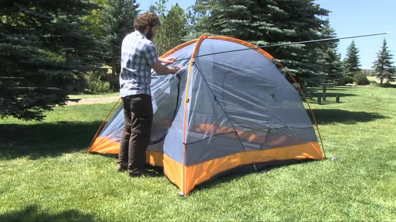 Marmot Kronos 4 Person Tent & Marmot Kronos 4 Person Tent - YouTube