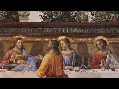 Domenico Ghirlandaio - CENACOLO DI SAN MARCO - ULTIMA CENA - Museo nazionale di San Marco - FIRENZE