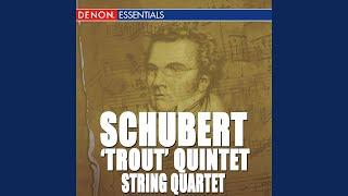 """Quintet for Piano D. 667 """"The Trout"""" IV. Thema con variazioni: Andantino - Allegretto"""