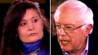 Bernie Sanders Persuades Trump Voter That She
