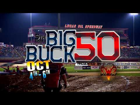 Oct. 4th-6th, 2018: Big Buck 50 Presented by Whitetail Trophy Hunt