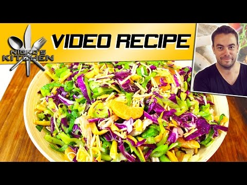 Chinese Chicken Salad (Cheesecake Factory Style) | Nicko's Kitchen